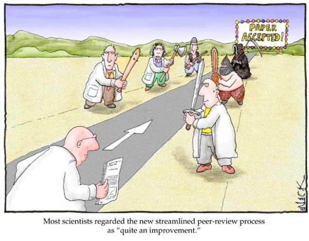 Peer review comic