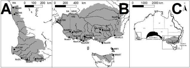 Pygmyperch_distributionmap