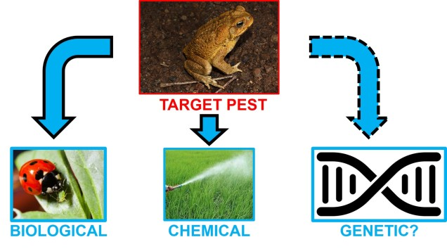 Types of control tools for invasive species